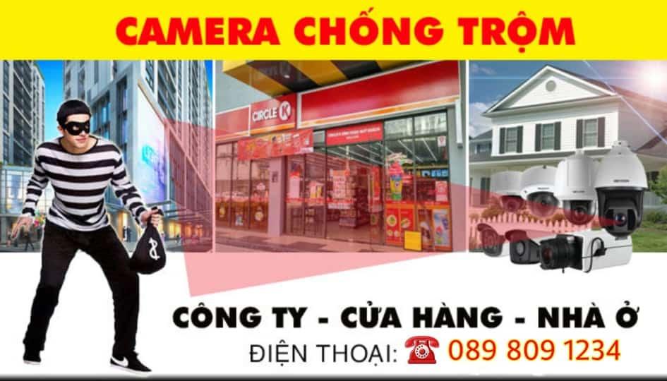 Lắp Camera an ninh chống trộm tại Kiến Thụy
