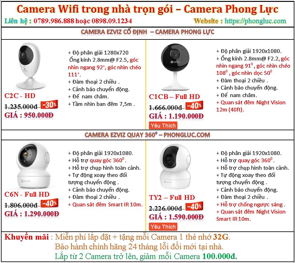 gia lap camera wifi do son hai phong